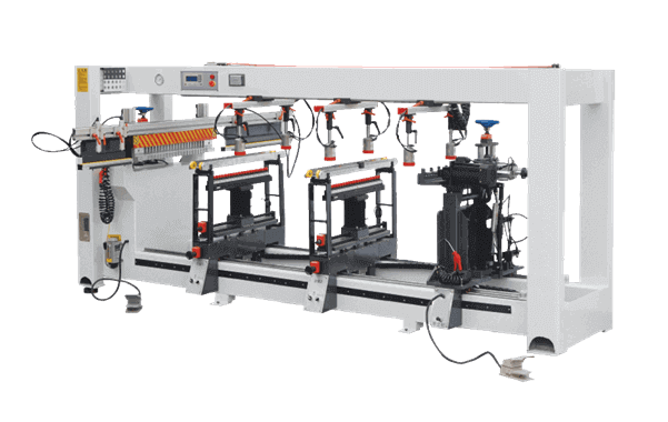 VKD-214 Multi-boring machine with four rows