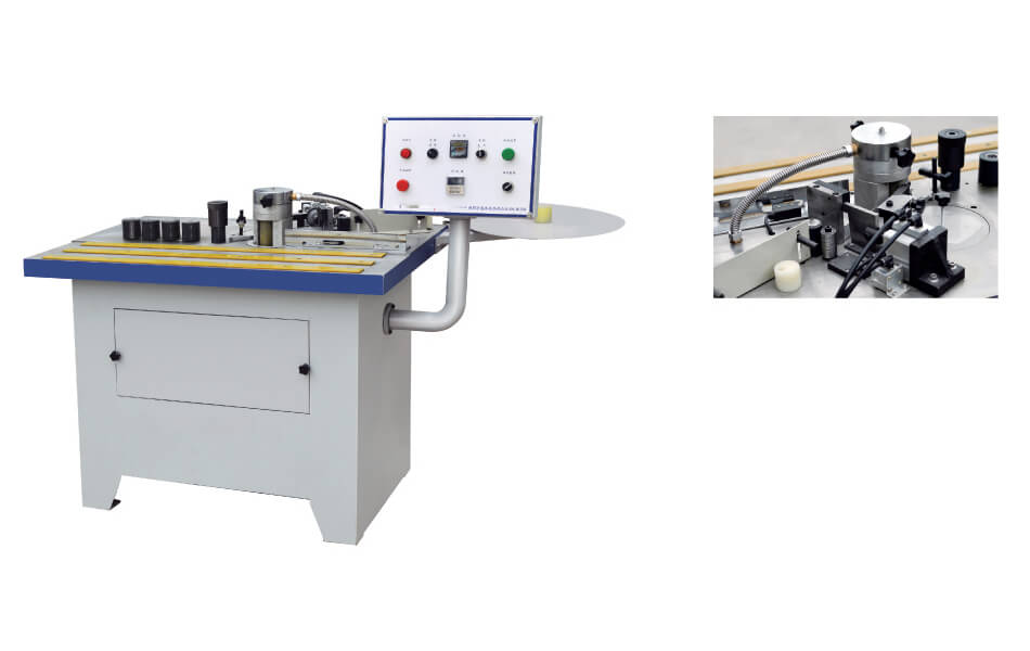 VKF-300A Curved and straight edge bander